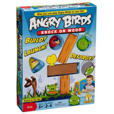 Angry Birds Knock on Wood Game