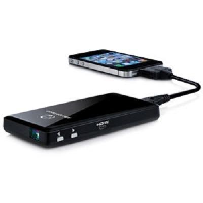 MicroVision SHOWWX+ HDMI Laser Pico Projector
