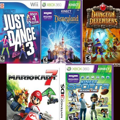 5 best selling video games for kids