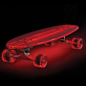 The Illuminated Flexible Skateboard