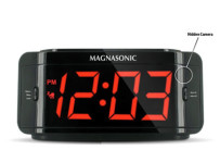 Covert Alarm Clock Hidden Spy Camera with Built-in DVR Recording