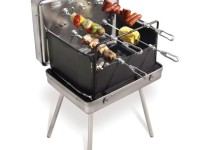 Brazilian Barbecue Set In Aluminum Briefcase