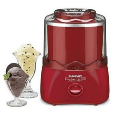 ICE CREAM MAKER - Cuisinart Frozen Dessert Maker
