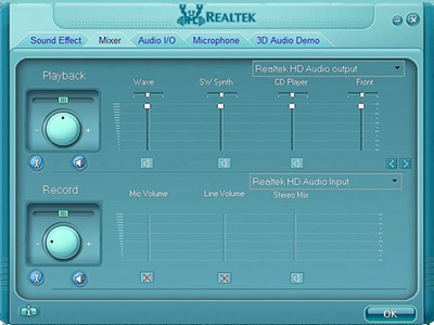 Realtek HD Audio to Record Sound