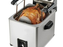 Rotisserie Turkey Fryer
