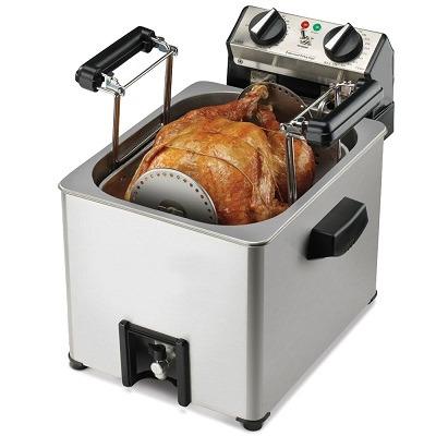 Rotisserie Turkey Fryer