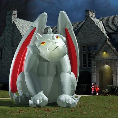 The Gargantuan Inflatable Gargoyle