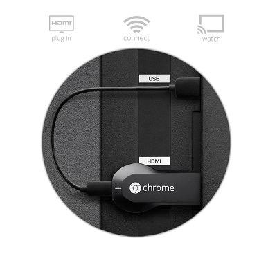 Google Chromecast HDMI Streaming Media Player 2