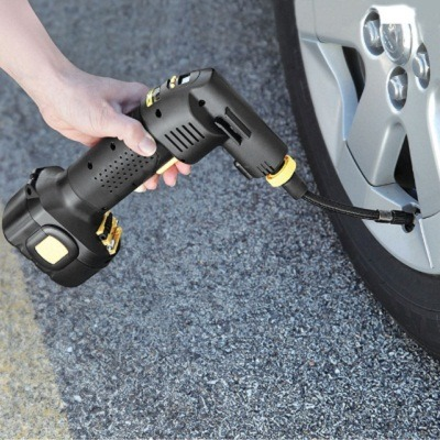 The Only Automatic Cordless Tire Inflator 2