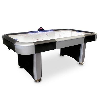 The Scoreboard Lights Air Hockey Table