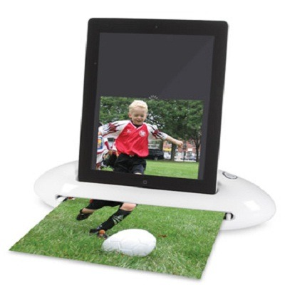 The Photo To iPad Scanning Dock