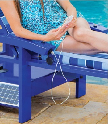 The Solar Powered Entertainment Lounger 2