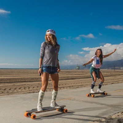 The Smartphone Controlled Electric Skateboard 2