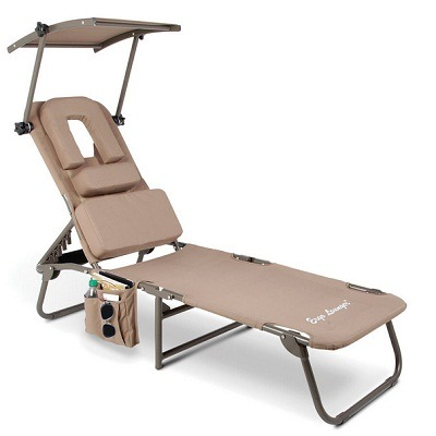 The Removable Shade Ergonomic Beach Lounger 1