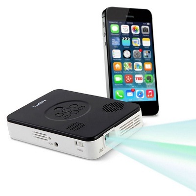 The Smartphone Pocket Projector