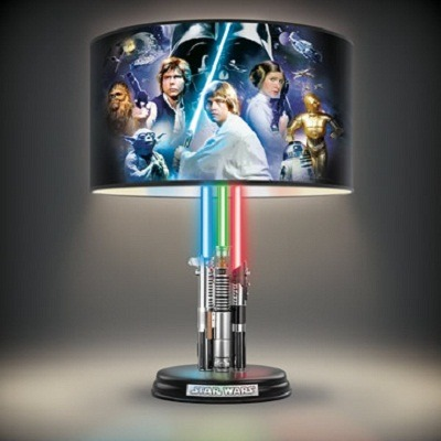 The Star Wars Lightsaber Legacy Lamp