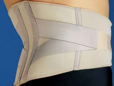 The Comfortable Compression Lumbar Wrap 1