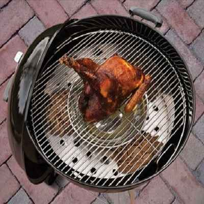 The Only Kettle Grill Smoker Converter