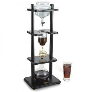 The Flavor Enhancing Coffee Extractor - A slow-drip coffee brewer that produces smooth, full-bodied coffee with less acidity