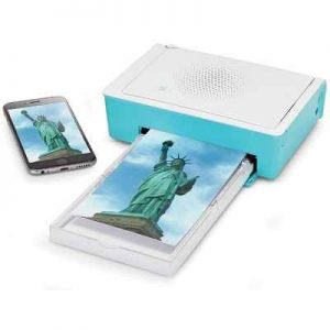 The iPhone Photo Printer - A versatile printer that prints photo quality pictures from your iPhone, iPad, PC, or memory card