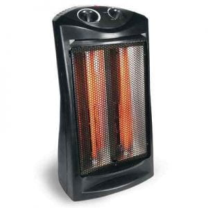 The Best Portable Tower Heater - Deemed the best room heater because it warmed cold room faster and distributed heat better