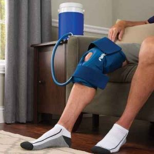 The Continuous Cold Therapy Knee Wrap - Enjoy long-lasting cold therapy that helps relieve knee swelling and pain