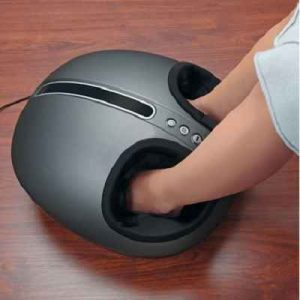 The Shiatsu Heated Foot Compression Massager - Now you can enjoy soothing touch of Shiatsu to relax and re-energize sore feet