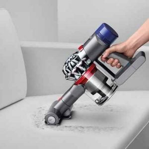 The Superior Dual Stick Hand Vacuum - A lightweight cordless hand vacuum with superior suction that traps fine dust particles