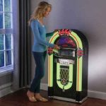 The All Media Jukebox - A full size jukebox that plays music from records, smartphones, CDs, iPods, SD Cards, and the radio