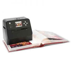 The Mounted Photo Album Digital Converter - converts photographs into digital images without removing them from the photo album