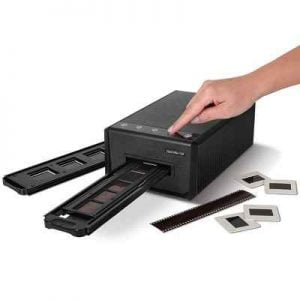 The Auto Advance Digital Slide And Negative Converter - automatically converts a series of slides or film negatives into digital images