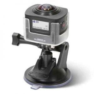 The 360 Video Camera - A high definition camera that function as dashcam capable of recording video in stunning 360 sphere