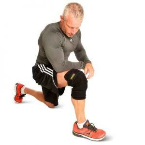 The Cordless Heated Knee Wrap - Helps improve circulation, relax tight muscles, and relieve joint pain