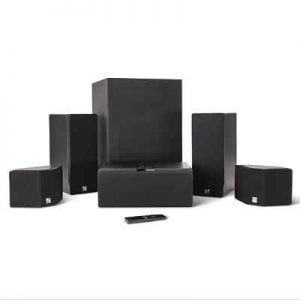 The Easy Setup Audiophiles Surround Sound System - With plug-and-play setup yet provides superior audio performance without speaker cables