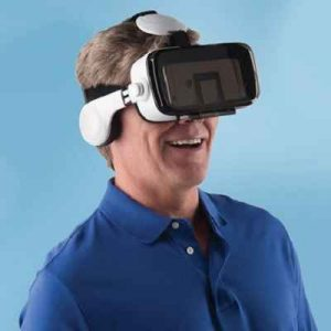 The Virtual Reality Smartphone Headset - Experience interactive virtual adventure in full 3D when watching videos and playing games
