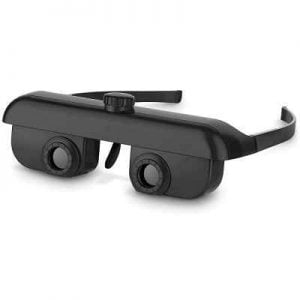 The Hands Free Binoculars - A wearable binoculars that enable hands-free magnified viewing