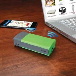 The Portable WiFi Access Point - Generates wireless connectivity for smartphones, tablets and laptops for wired networks with no wifi access