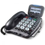 The Voice Amplifying Phone And Answering Machine - A clarity-enhancing telephone that provides amplified phone calls and answering machine messages