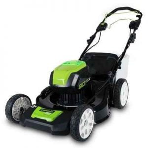 The Self Propelled Cordless Electric Mower - A  battery powered lawn mower that is powerful enough to propel itself