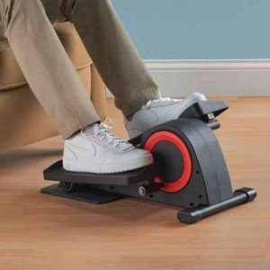 The Under Desk Elliptical Trainer - Now you can  enjoy exercise routine from intense marathon action or from a leisurely pace of low-resistance workout