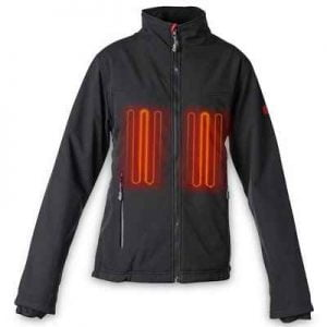 The Lady's 10 Hour Heated Jacket - provides three levels of safe and efficient heat to insulate the body against the cold