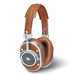 The Maximum Comfort Lambskin Neodymium Headphones - A premium corded head phones capable of delivering superior sound