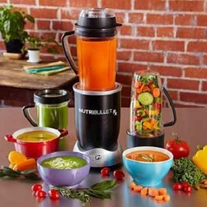 The Nutrient Preserving Soup Making Blender - chops, purees, and heats vegetables and retains optimum nutrients as it blends