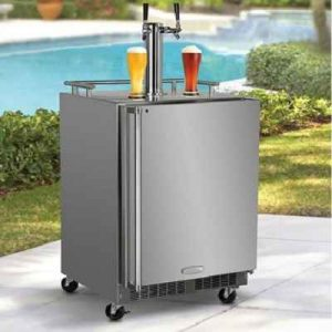 The Beer Lover's Refrigerated Outdoor Tap - A commercial quality outdoor beer tap design to defy summer heat so you'll enjoy frosty drafts anytime anywhere