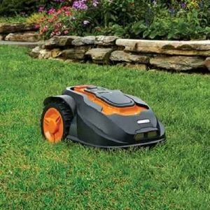 The Landscaping Robotic Lawnmower - A robotic lawnmower that landscapes autonomously without any programming