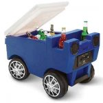 The RC Zamboni Cooler - A remote controlled cooler that redefines cool while delivering frosty beverages