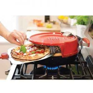 The Stovetop Artisanal Pizzeria - A stovetop pizza oven capable of producing crispy pies in just a matter of 6 minutes