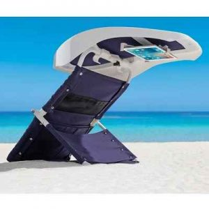 The Beachgoer's Reading Room - A portable sunshade perfect for use at the beach, on a ship, or lounging by the pool