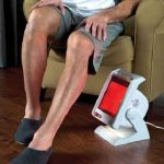 The Clinical Strength Infrared Therapy Lamp - helps improve circulation, increase healing and provides relief from pain and tension
