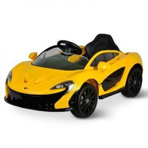 The Children's McLaren P1 Ride On - A 1:4 scale electric ride-on inspired by the McLaren P1 that conveys a child in motoring majesty at up to 5 mph